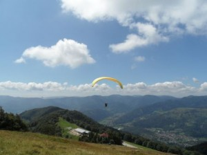 formation perfectionnement au parapente Alsace Vosges