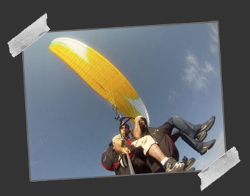 photos parapente biplace