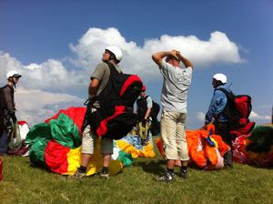 parapente grand ballon Alsace Vosges