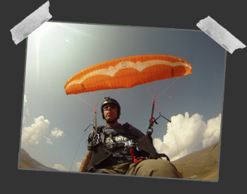 photos parapente speed flying