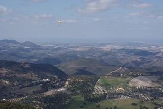 Parapente ALGODONALES Espagne 2012