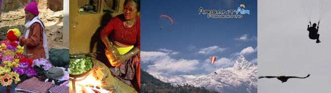 parapente nepal argantair