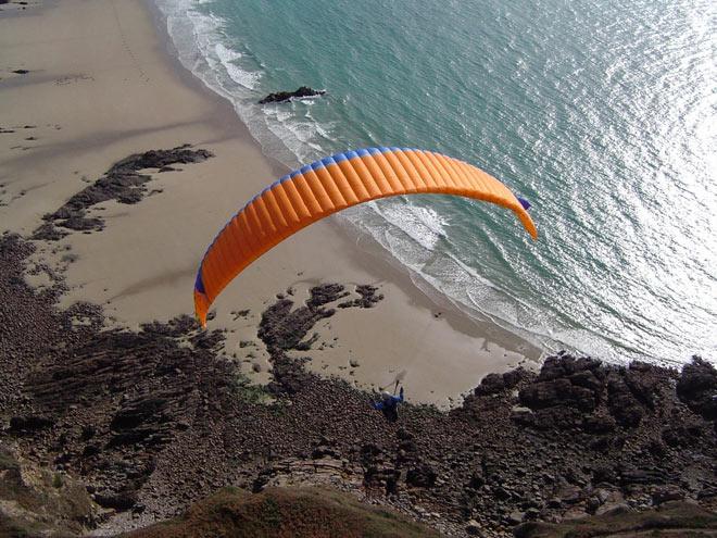 parapente speedflying mer